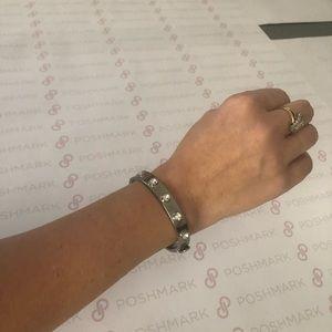 JUICY COUTURE Silver Bangle Bracelet